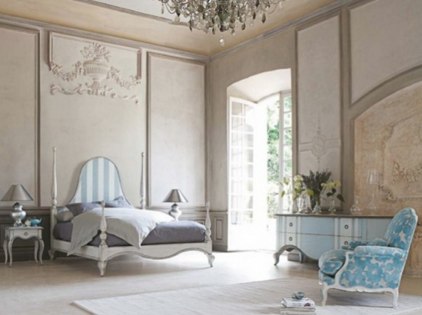 The Walls in the Beautiful Bedroom
