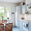 White and Blue Kitchen Designs