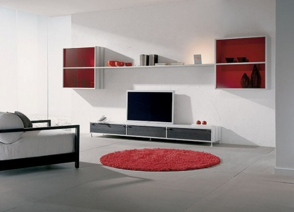 Modern Furniture in The Living Room