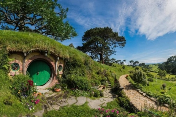 Hobbit Village from Lord Of The Rings