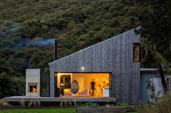 House for a Young Family in New Zealand