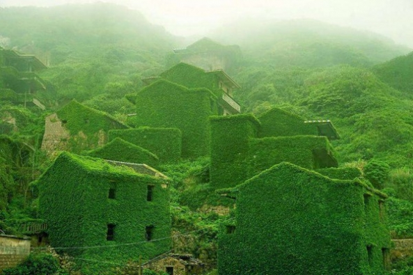 Abandoned Chinese Fishing Village