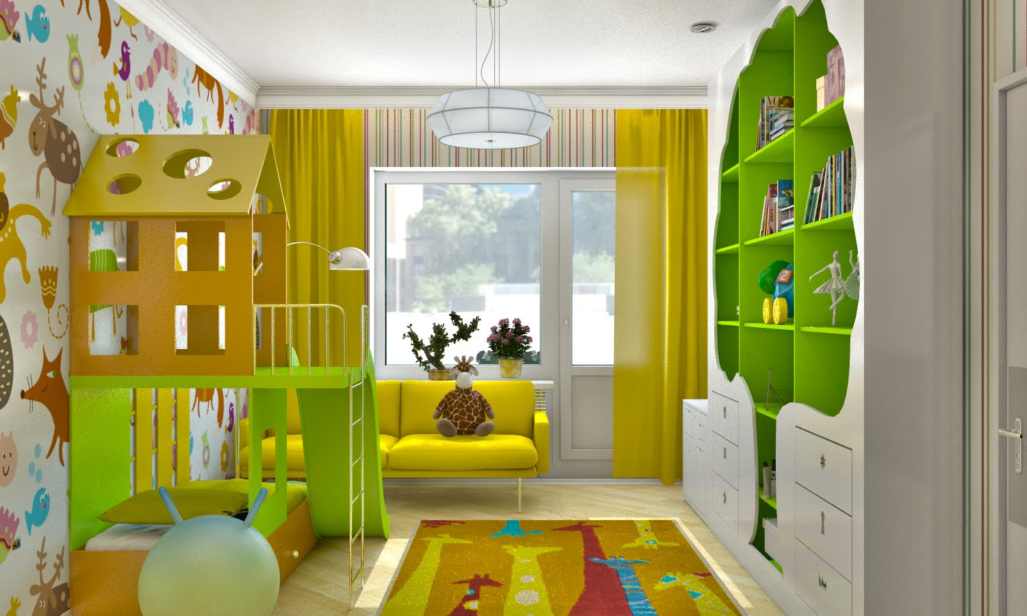 Kids room design ideas kids room ideas homeid for Kids room layout ideas