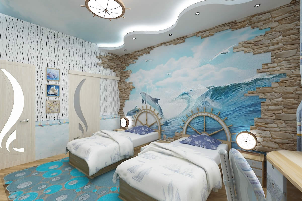 The Element Of Water Boys Rooms Interior Kids Room