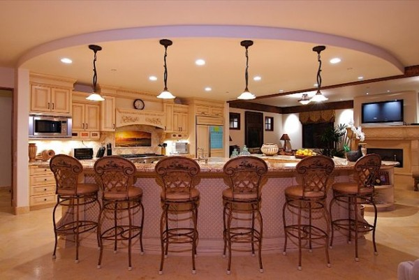 The stretch ceiling in the Kitchen Photo 3
