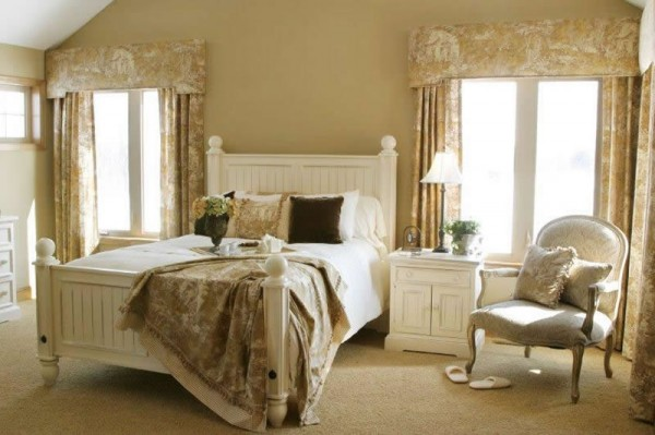 The bedroom in the provence style bedroom design homeid for French country girls bedroom ideas