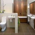 Design of the bathroom in a modern style