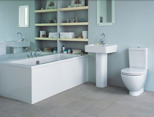 Design of the bathroom in a modern style 2