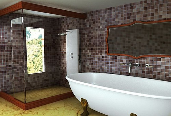 Design of the bathroom in a modern style 3