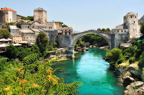The Old Arch Bridge, Bosnia and Herzegovina