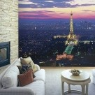 Photo Wall Mural Paris by Night