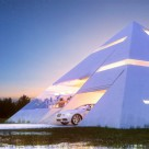 Unusual Pyramid House