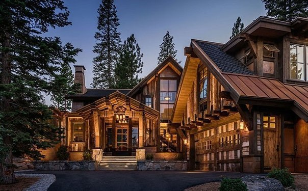 Excellent home in a rustic style architecture design for Rustic style homes