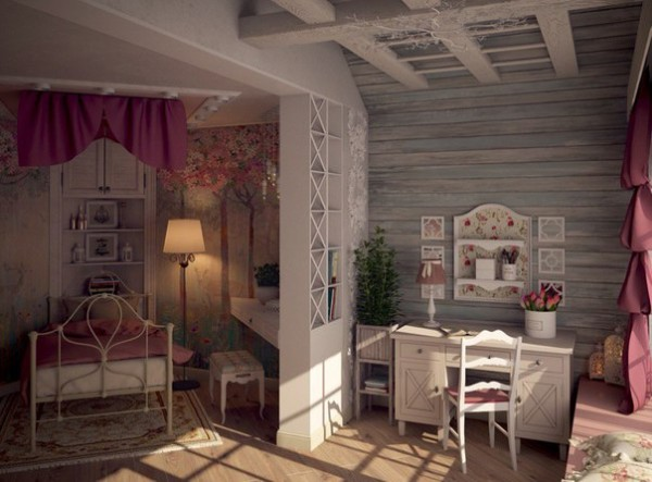 Girls Room in the Provence Style 3