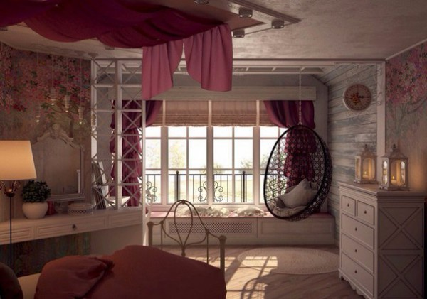 Girls Room in the Provence Style 4