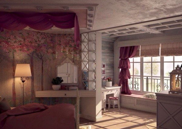 Girls Room in the Provence Style 5