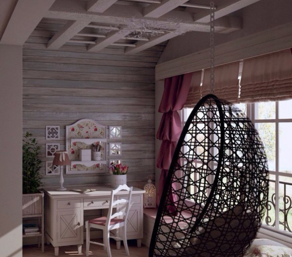 Girls Room in the Provence Style 6