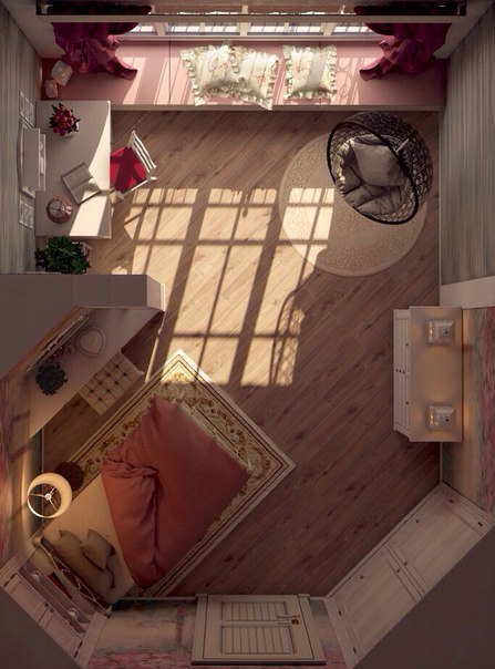 Girls Room in the Provence Style 7