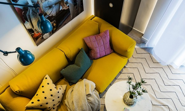 Comfortable, Elegant and Stylish Atmosphere in a Tiny Apartment ...