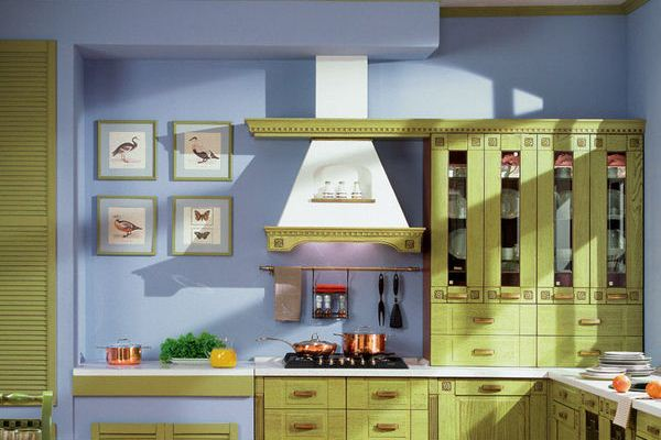 Green And Blue Kitchen Design Ideas Designs HomeID