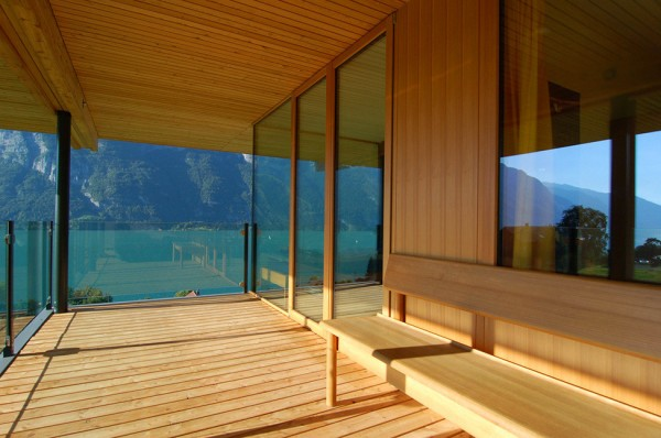 Walensee House on the Lake in Switzerland 6