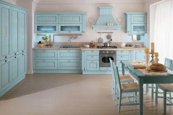 Kitchen in the Empire Style Design Ideas Photo 2