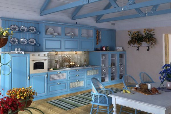 Kitchen in the Empire Style Design Ideas Photo 5