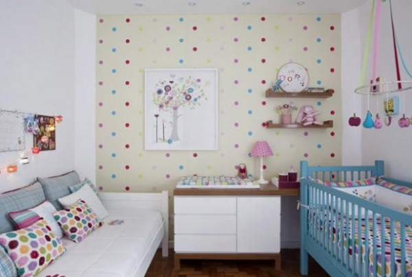 Bright kids room