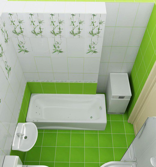 Green Bathrooms Design Idea 2
