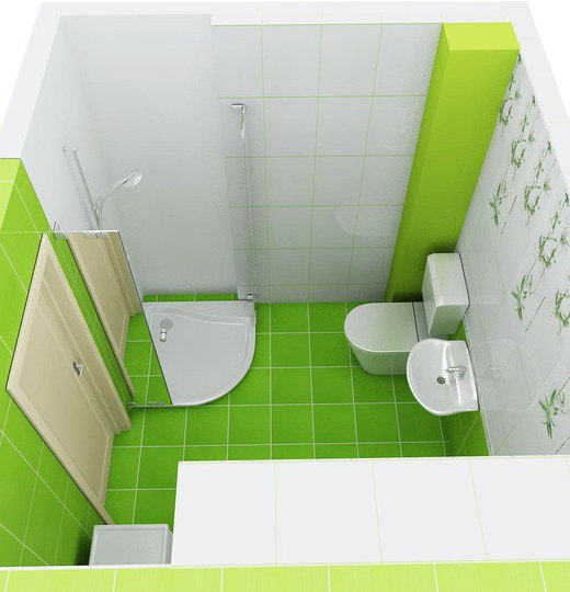 Green Bathrooms Design Idea 3