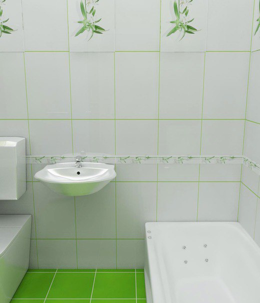Green Bathrooms Design Idea 5