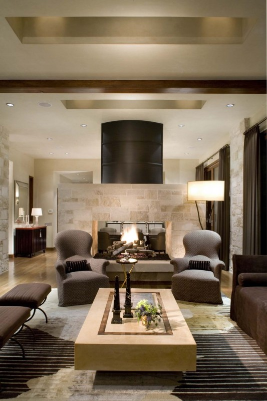Contemporary Living Room Pictures 7