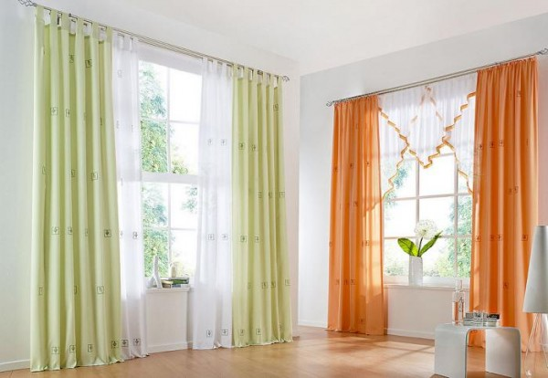 20 Living Room Curtains Ideas 14