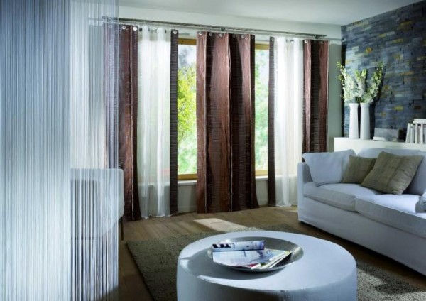 20 Living Room Curtains Ideas 19