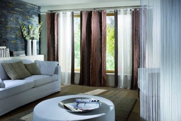 20 Living Room Curtains Ideas 2