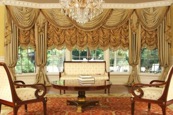 20 Living Room Curtains Ideas 4