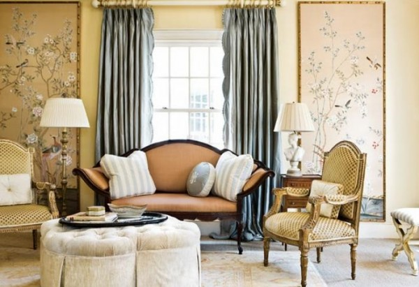 20 Living Room Curtains Ideas 5