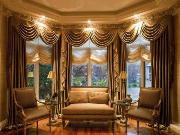 20 Living Room Curtains Ideas
