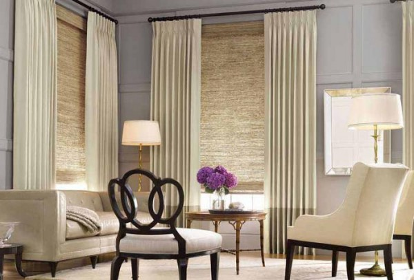 20 Living Room Curtains Ideas 9