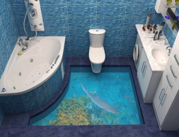 3D Bathroom Floors 2