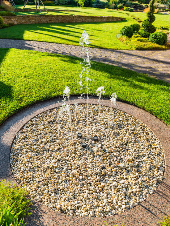 Fountains are an excellent addition to landscape design