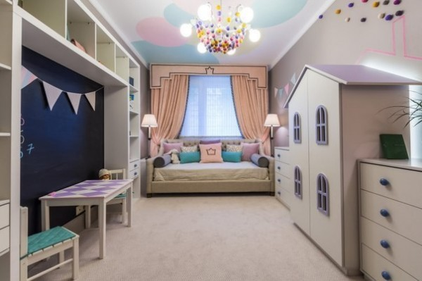 Stylish Kids Room Decorating Idea 2