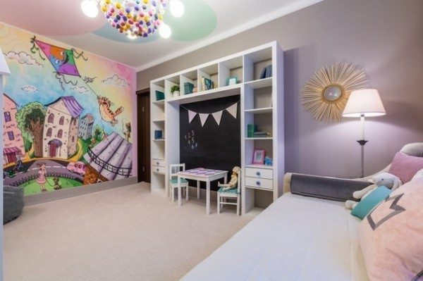 Stylish Kids Room Decorating Idea 3