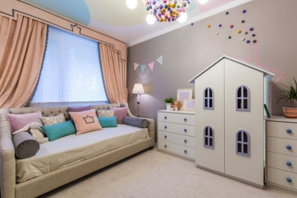 Stylish Kids Room Decorating Idea 4