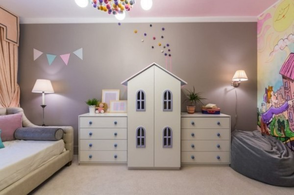 Stylish Kids Room Decorating Idea 5