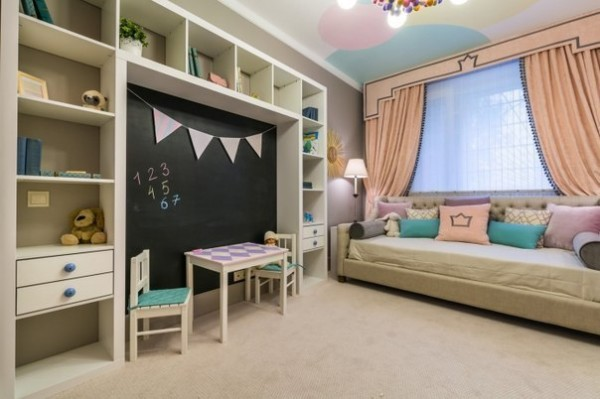 Stylish Kids Room Decorating Idea 6