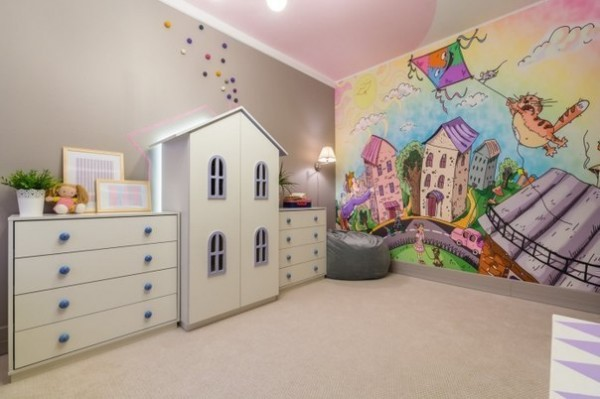 Stylish Kids Room Decorating Idea