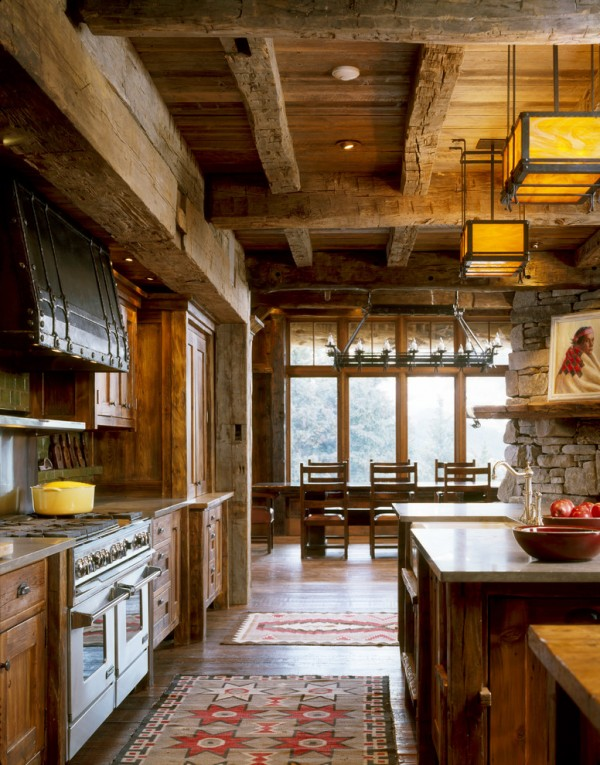 Chalet Kitchen Design Pictures 10