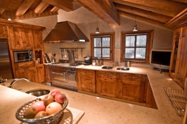 Chalet Kitchen Design Pictures 8