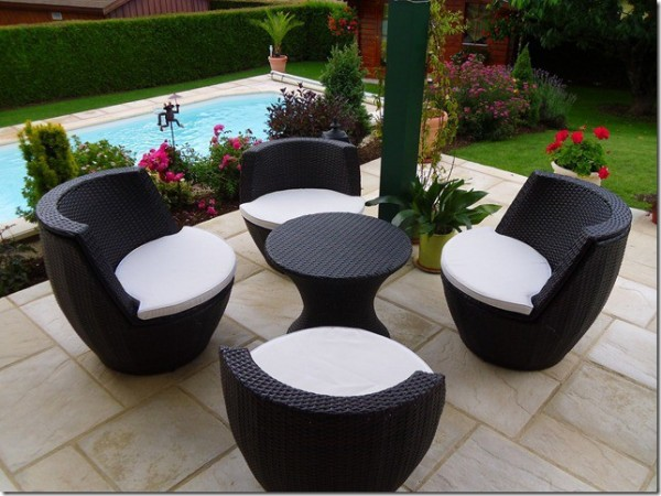 Modern Synthetic Rattan Furniture 9